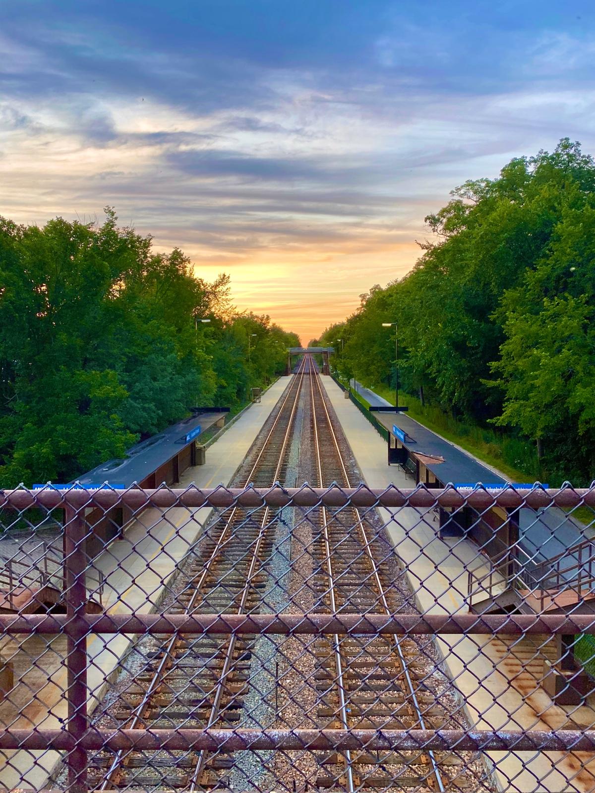 Rails and Railings…The Beautiful Journey Awaits