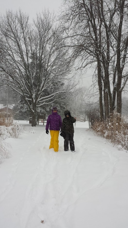 Snowy Trail Day